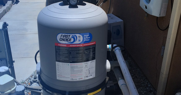 Redlands and Yucaipa Pool Equipment Install - Pump and Filter Install